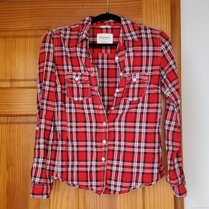 Red, White, & Blue Aeropostale Plaid